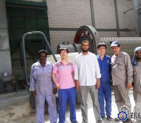 科威特硅砂粉磨站项目