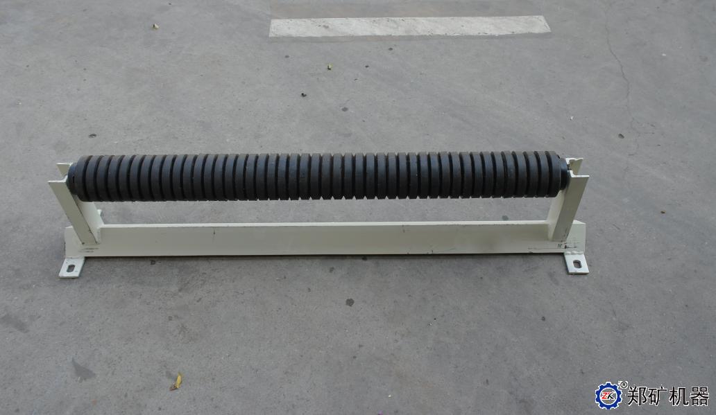 输送机带沟槽托辊及支架