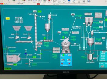 汉中锌业4t/h立磨煤粉制备系统