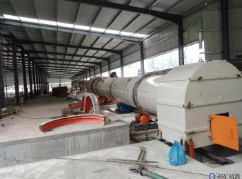 福建绿祥年产10万方污泥陶粒生产线项目